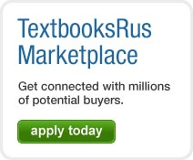 TextbooksRus Marketplace - Get connected with millions of potential buyers. Apply today!