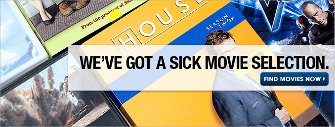We've got a sick movie collection. Buy or sell movies for cash now.